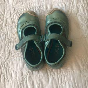 Plae emme blue sneakers